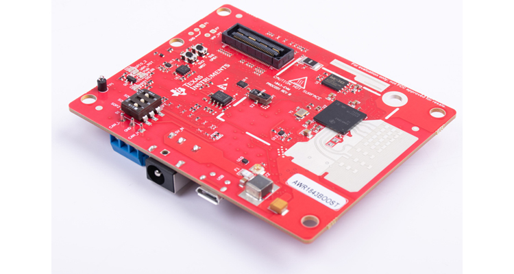 Beamsteering for corner radar reference design TIDEP-01021