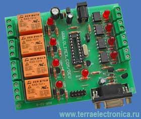 AVR-IO – отладочная плата изолированного ввода/вывода на базе микроконтроллеров ATMEL