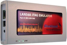 BH-LAN-560 – представляет собой JTAG-эмулятор третьего поколения класса XDS560 c Ethernet и USB-интерфейсами