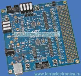 C8051F530-TB – отладочная плата