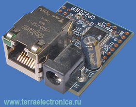 CP2201EK – оценочный набор фирмы Silicon Laboratories