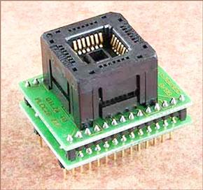 Универсальный адаптер для программирования приборов в корпусах PLCC28 Conv DIL28-PLCC28Z