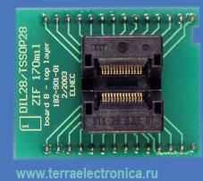 Conv DIL28/TSOP28 Z 11.8 (70-0070) - универсальный адаптер