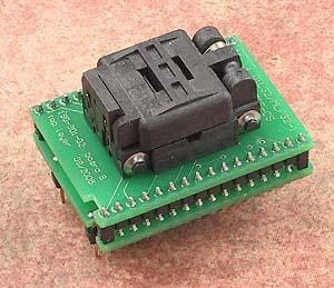 Conv DIL32/MLF32-1 Z (70-0190) - универсальный адаптер c ZIF колодкой