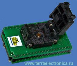 Conv DIL40/MLF64 ZIF-CS AVR-1 (70-0281)