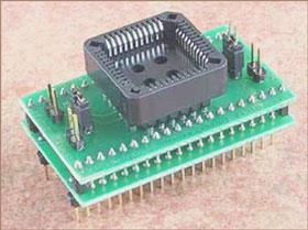 Специализированный адаптер Conv DIL40-PLCC44E