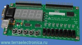DL-DIO4 – дочерняя плата для разработки устройств общего назначения