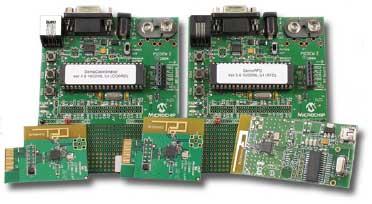 DM163027-4 – демонстрационный набор PICDEM™ Z – уникальная платформа для оценки, разработки и отладки беспроводных коммуникационных систем по технологии ZigBee™