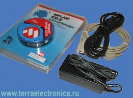 DV164007 (MPLAB® ICD2) - внутрисхемный отладчик/программатор для микроконтроллеров серии  PICmicro®