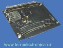 EA-EDU-002 – плата расширения серии Education Board для микроконтроллеров LPC2148
