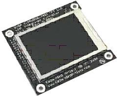 EA-LCD-001 – QVGA Color TFT - цветной ЖКИ