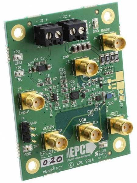 EPC9126 – генератор импульсов для питания лазерных диодов.
