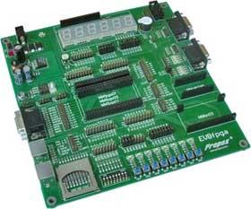 EVBFPGA – материнская плата для модулей MMFPGA12