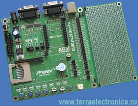 EVBLPC213X – интерфейсная отладочная плата