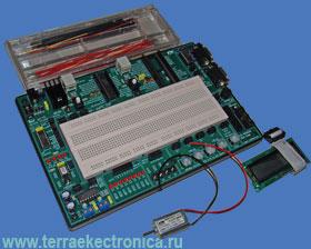 IE-NX-DSPIC30F – оценочный лабораторный комплекс для освоения работы с dsPIC микроконтроллерами фирмы MICROCHIP