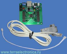 IE-ZX-SERVO16 – макетная плата драйвера сервопривода