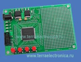LDM-EP3C25-E144 – плата для разработки устройств на ПЛИС Cyclone III фирмы Altera.