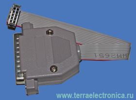 LDM-PB 2.01 - загрузочный кабель ByteBlaster подключается к стандартному параллельному порту персонального компьютера