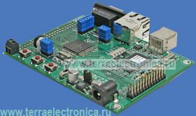 M52233DEMO – отладочная плата для микроконтроллеров семейства ColdFire MCF5222х