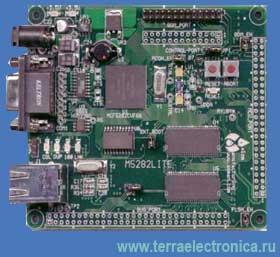 M5282LITE – отладочная плата для микроконтроллеров семейства ColdFire MCF528х
