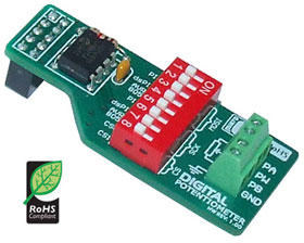 ME-DIGITAL POTENTIOMETER BOARD