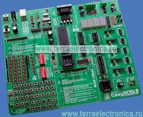 ME-EASY8051B – лабораторный стенд от компании MikroElektronika