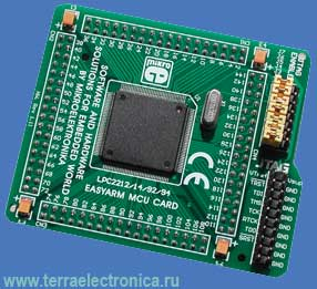ME-EASYARM MCULPC2214 CARD - мезонинная плата