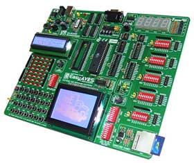 ME-EASYAVR5A – лабораторный стенд от компании MikroElektronika