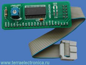 ME-SERIAL GLCD240X128 ADAPTER BOARD – плата контроллера