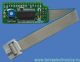 ME-SERIAL LCD ADAPTER BOARD – плата контроллера символьного дисплея