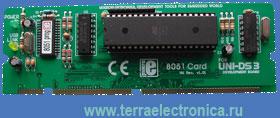 ME-UNI-DS3 40 PIN 8051 CARD – плата специализации
