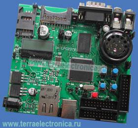 SK-LPC2378-S300 – отладочная плата на базе ARM7-микроконтроллера LPC2378