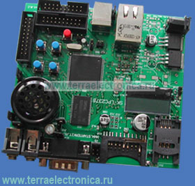 SK-LPC2378-S508 – отладочная плата на базе ARM7-микроконтроллера LPC2378