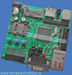 SK-LPC2388-SIM508 – отладочная плата на базе ARM7-микроконтроллера LPC2388