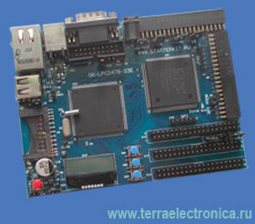 SK-LPC2478-S3E – отладочная плата на базе ARM7-микроконтроллера LPC2478