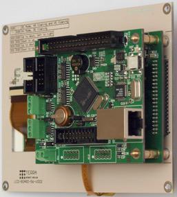 ������ TE-ULCD56 � TE-STM32F107