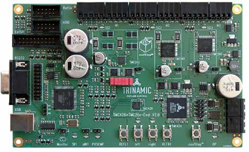 TMC429+TMC26x-EVAL – макетная плата