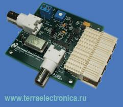 ADC121S101EVAL – макетная плата на базе аналого-цифрового преобразователя ADC121S101 NATIONAL SEMICONDUCTOR