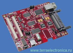 Дочерняя плата модуля связи и памяти для отладочных плат Avalon Reference Design System™