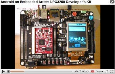 ОС Android, портированная на LPC3250