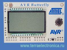 AT AVRBUTTERFLY – демонстрационная плата для ознакомления с возможностями микроконтроллера фирмы Atmel  ATmega169