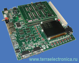AT STK1000 – отладочный набор для новейших 32-разрядных контроллеров фирмы ATMEL AT32AP7000