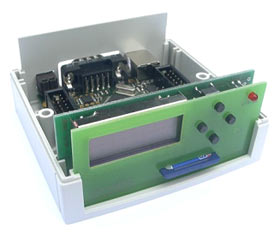 Пластиковый корпус для отладочной платы AVR-SAVVY128
