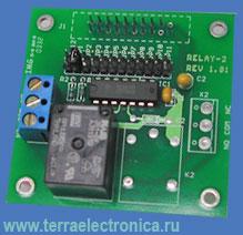 BP-RELAY-1 - дочерняя плата с установленным силовым реле для мини-модулей серии MINI-MAX производства компании BiPOM