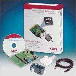 Стартовый набор для знакомства с семейством микроконтроллеров общего назначения C8051F060DK