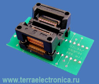 Conv DIL34/SSOP34 Z 200 (70-0068) - универсальный адаптер c ZIF колодкой для любых программаторов