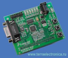 Демонстрационная плата для сигнальных контроллеров типа  56F8013