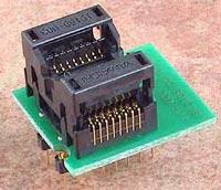 eуниверсальный адаптер для любых программаторов Conv DIL16/SOIC16 Z 200