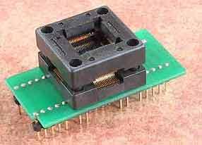 ������������������ ������� � ZIF �������� DIL40/TQFP64 Z PIC-1