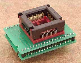 Специализированный адаптер Conv DIL40/PLCC52Z DS87C530 фирмы ELNEC